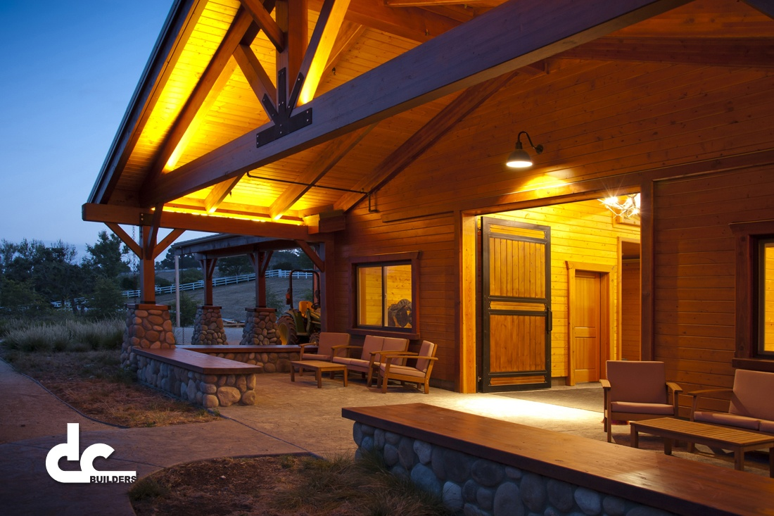 Post and Beam Barn Designs - DC Builders