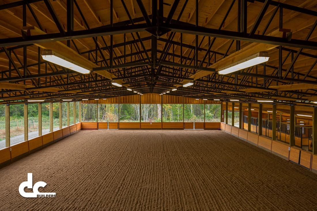 Horse Barn Arena Design