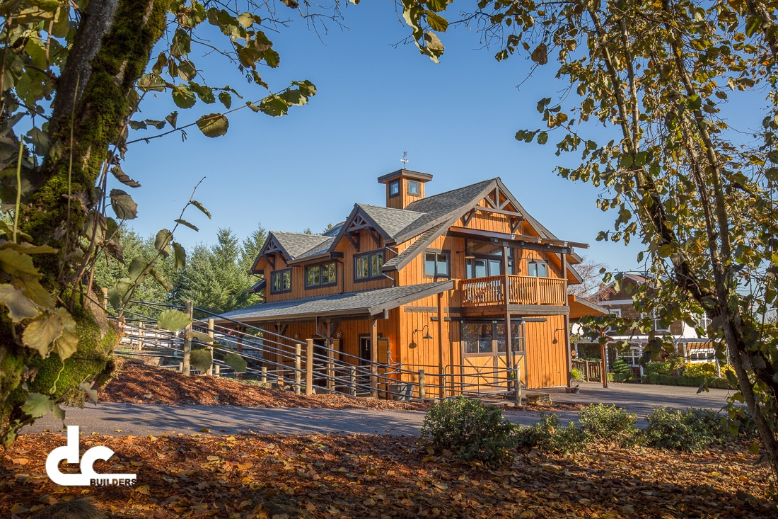 This barn home in Cornelius, Oregon was custom built by DC Builders.