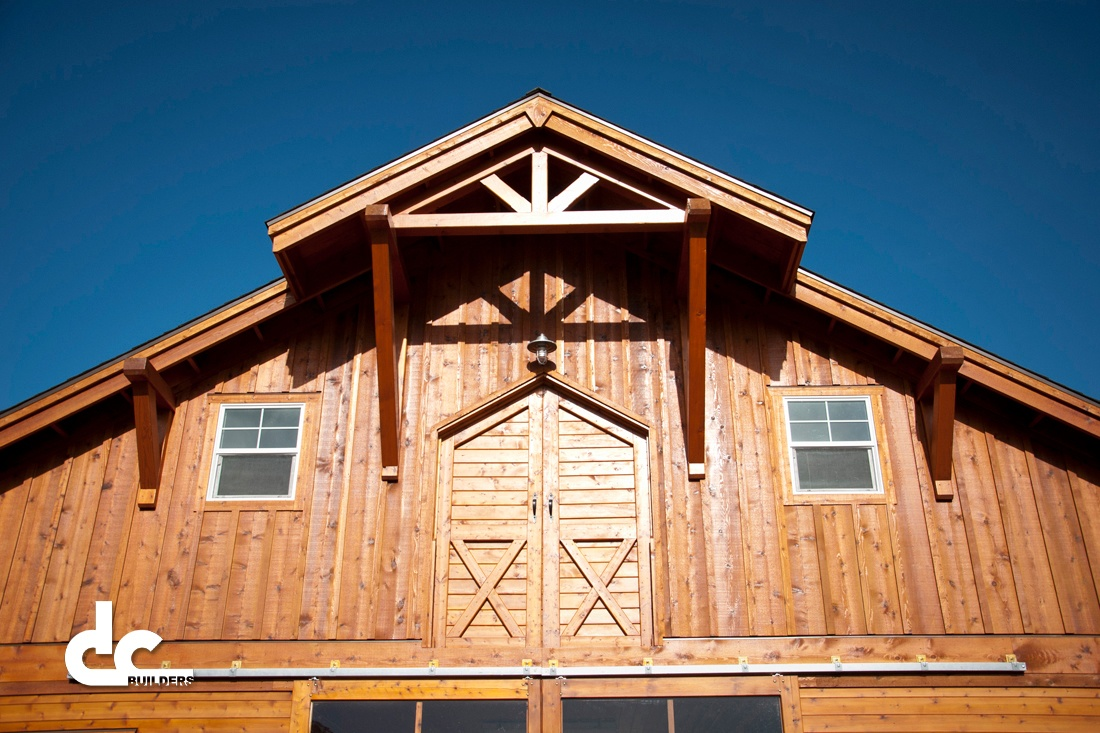 DC Builders specializes in the custom designs and finishing of barns and barn homes.