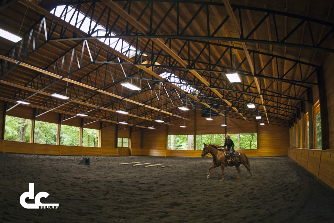 West Linn Riding Arena Project Dc Builders