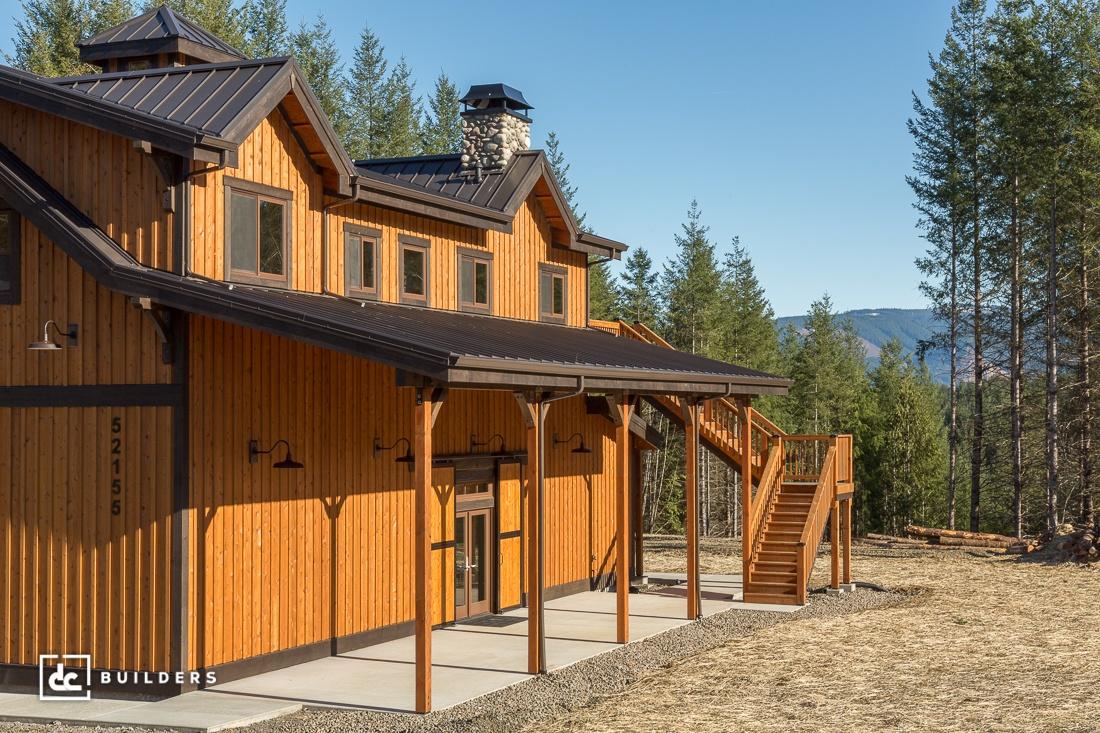 Sandy Oregon Barn Home Project Dc Builders