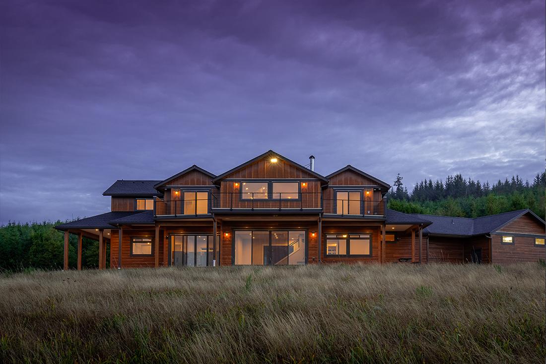Custom Home In Gold Beach Oregon Dc Builders